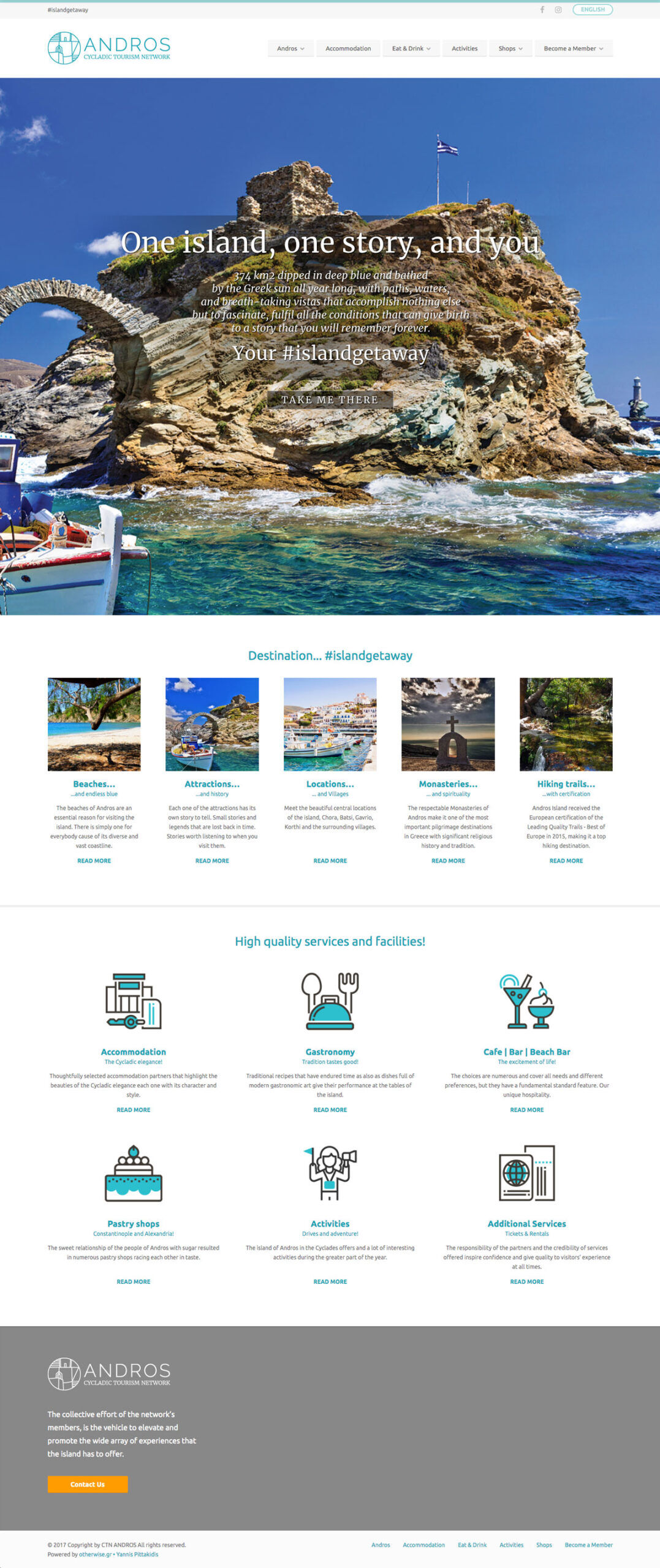 CTN – Andros Cycladic Tourism Network